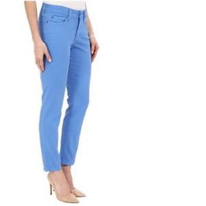 NYDJ Blue Clarissa Skinny Ankle Jeans